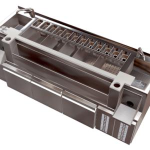 Estacion de Cocteleria doble refrigerada en acero inoxidable 0,8mm